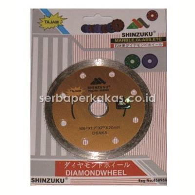 10 Buah Pisau Potong Granit dan Marble 4 inch Shinzuku Wet Diamond Wheel Tajam