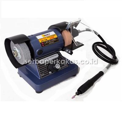 harga-jual-powertools-mesin-Gerinda-Duduk-kecil-3-inch-boky-pro-MD-75M-dengan-Flexible-Shaft-mini-bench-grinder